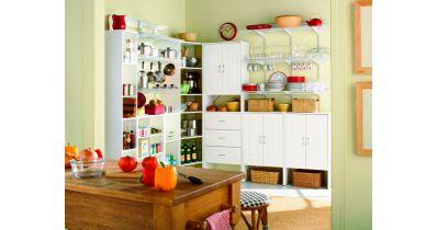 با ظروف اضافه در آشپزخانه چه کنیم