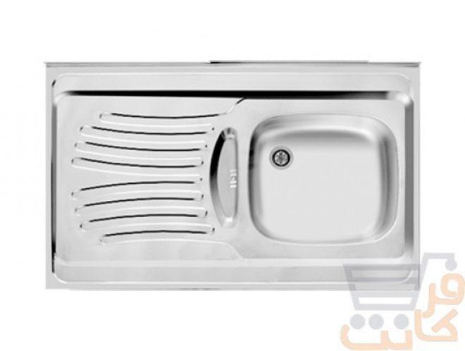 سینک ظرفشویی اخوان کد 125