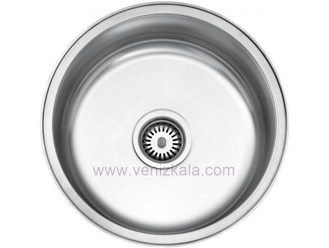 سینک ظرفشویی استیل البرز کد 170