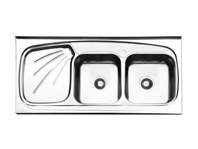 سینک ظرفشویی استیل البرز کد 270/60