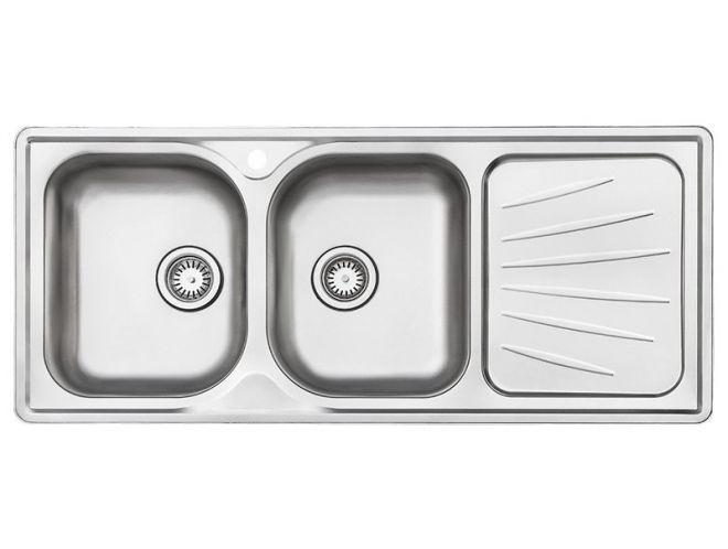 سینک ظرفشویی استیل البرز کد 214/60