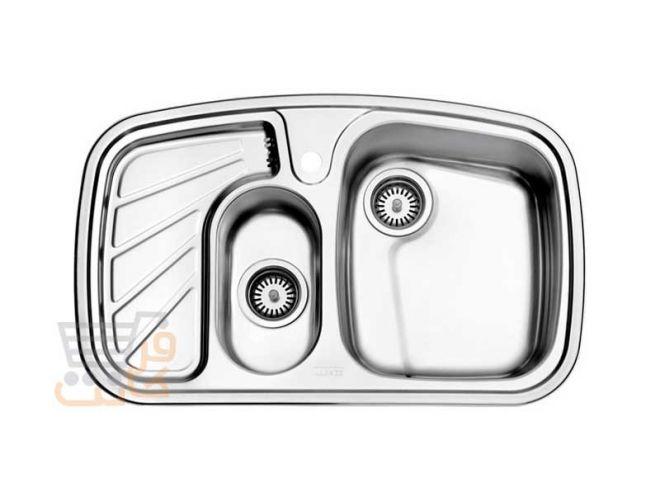 سینک ظرفشویی استیل البرز کد 608/50
