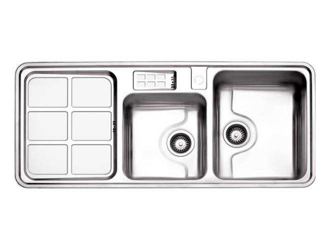 سینک ظرفشویی استیل البرز کد 815/60