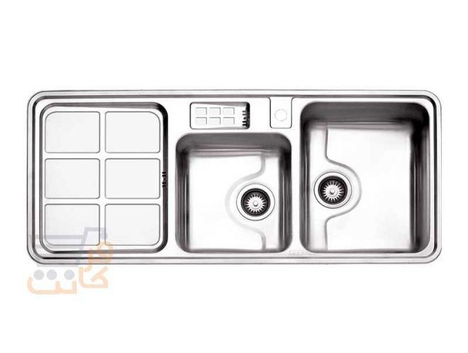 سینک ظرفشویی استیل البرز کد 815/50