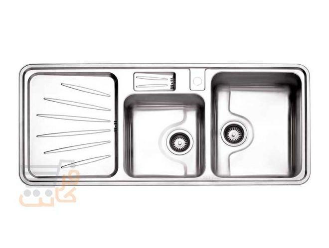 سینک ظرفشویی استیل البرز کد 814/50