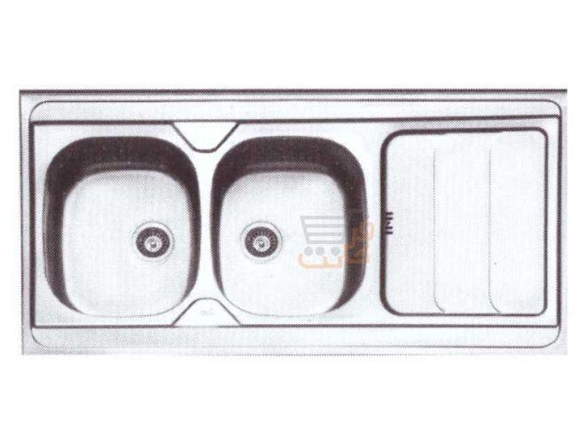 سینک ظرفشویی ایلیا استیل کد 1024