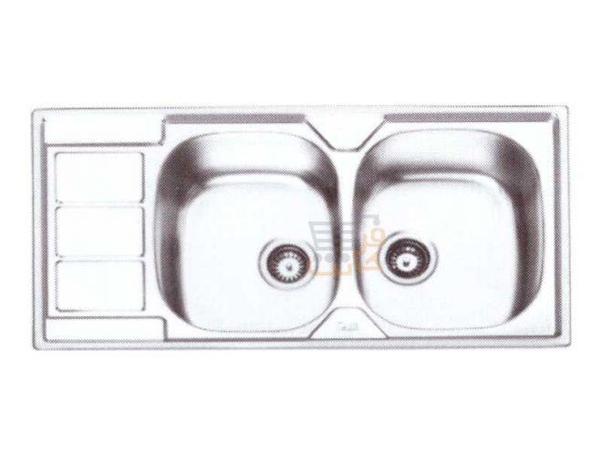 سینک ظرفشویی ایلیا استیل کد 2051