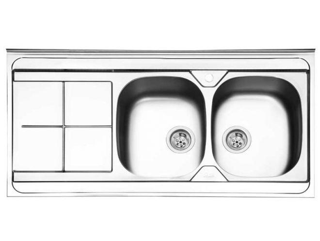 سینک ظرفشویی ایلیا استیل کد 1041