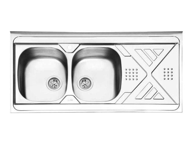 سینک ظرفشویی ایلیا استیل کد 1040