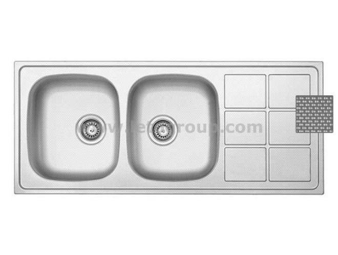سینک ظرفشویی لتو کد tx2