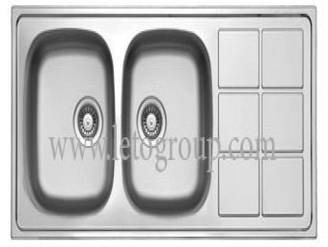 سینک ظرفشویی لتو کد tx48
