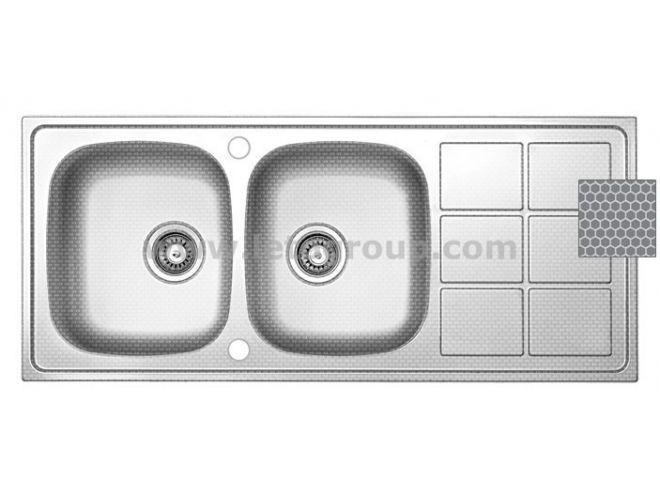 سینک ظرفشویی لتو کد tx39