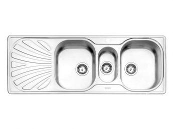 سینک ظرفشویی استیل البرز کد 530/60