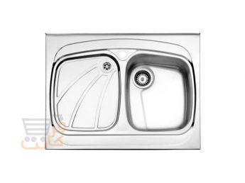 سینک ظرفشویی استیل البرز کد 618/60