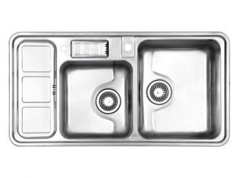 سینک ظرفشویی استیل البرز کد 813/60