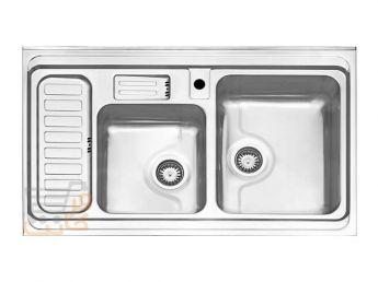 سینک ظرفشویی استیل البرز کد 812/60