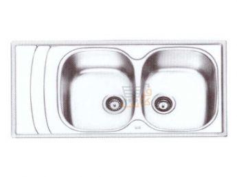 سینک ظرفشویی ایلیا استیل کد 2054