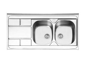 سینک ظرفشویی ایلیا استیل کد 1042