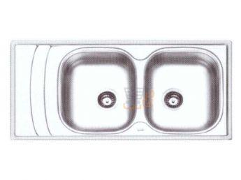 سینک ظرفشویی ایلیا استیل کد 4054