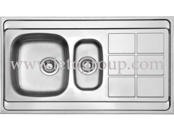سینک ظرفشویی لتو کد tl8