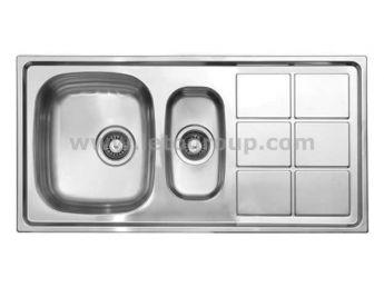 سینک ظرفشویی لتو کد tx10