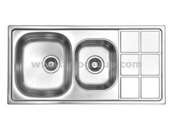 سینک ظرفشویی لتو کد tx16