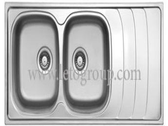 سینک ظرفشویی لتو کد tx50