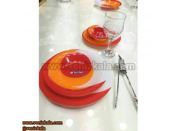 سرویس غذا خوری 25 پارچه آذین اوپال کد 119