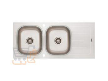 سینک ظرفشویی داتیس کد dsg 119 سفید